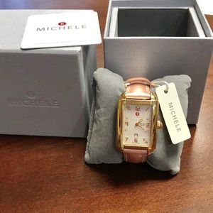 Michele milou Park Watch (new strap)